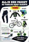 BMX startpakket €695