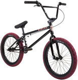 "Stolen Casino 20"" 2021 Freestyle BMX Fiets black red"