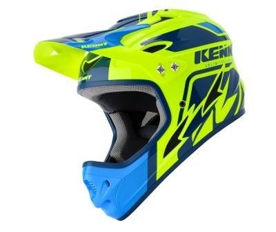 Kenny BMX helm blue/yellow