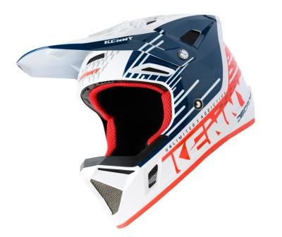 Kenny BMX /MX helm Patriot Red Blue