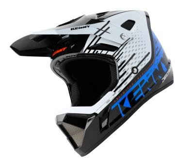 Kenny Helm BMX / MX Black Blue