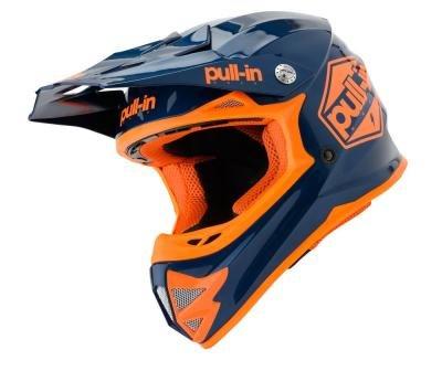 Pull In BMX helm Orange kid