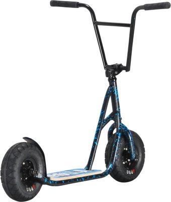 Rocker Rolla Big Wheel Scooter Blue Spatter