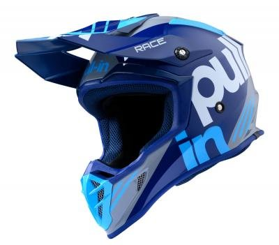 Pull In MX Adult Race Blauw helm