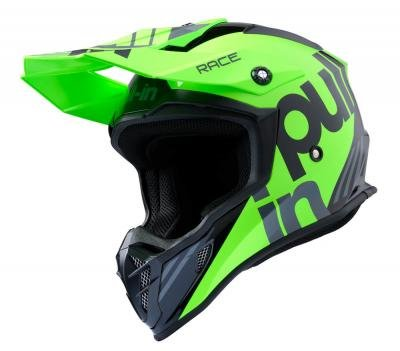 Pull In MX adult race  helm Green