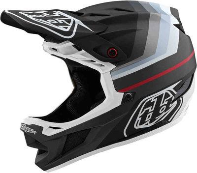 TLD D4 helm  Mirage black / Silver