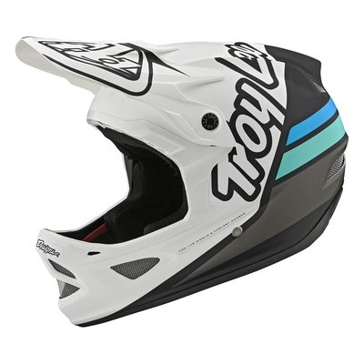 TLD D3  helm Silhouette  White / Navy 2020