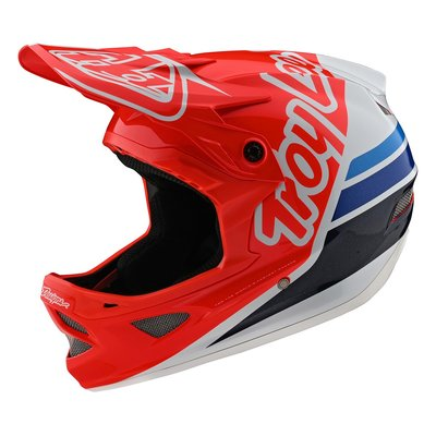 TLD D3 helm Silhouette Red /white 2020