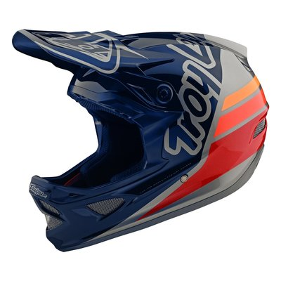 TLD D3 helm Silhouette Navy Silver 2020