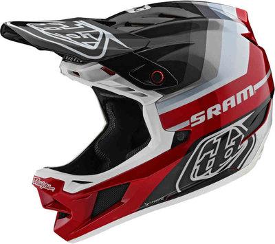 TLD D4  helm Mirage Sram Black Red carbon