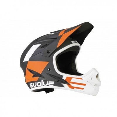 Evolve BMX full face helm Orange
