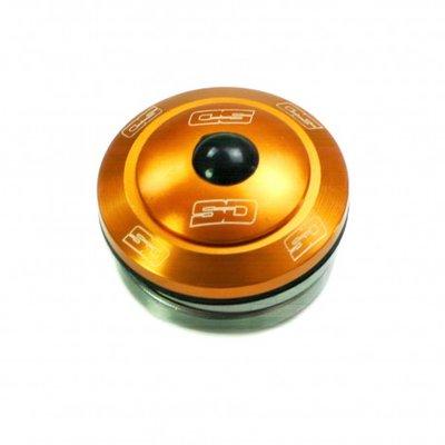 SD Head Set Integrated Orange 1 1/8