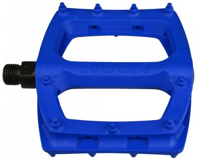 Tioga platform BMX pedalen Blauw