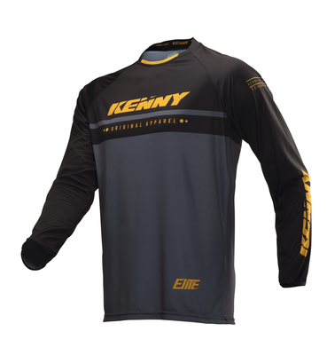 BMX Shirt Kenny black Gold