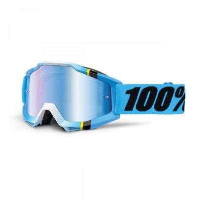 100% Accuri Blue