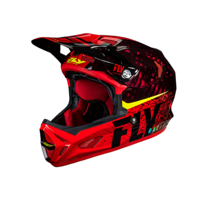 FLY Werx Imprint 2019 Mips Carbon RED helm