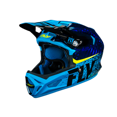 FLY Werx Imprint 2019 Mips Carbon blue