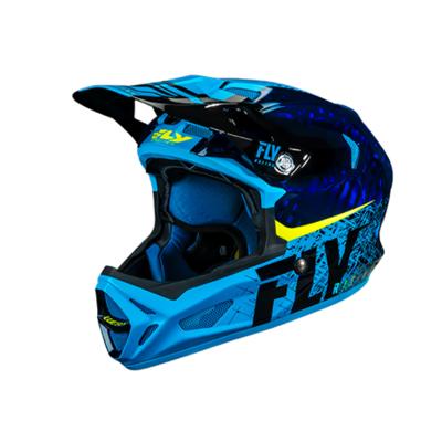 FLY Werx Imprint 2019 Mips Carbon blue helm