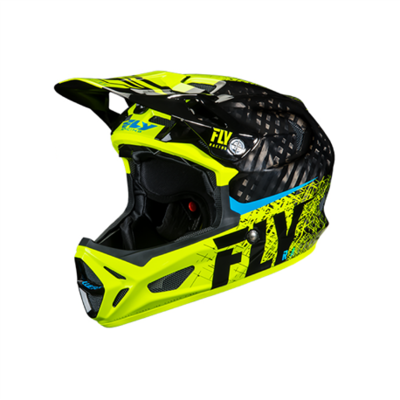 FLY Werx Imprint 2019 Mips Carbon Yellow