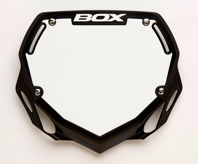 BMX Nummerbord  BOX Zwart