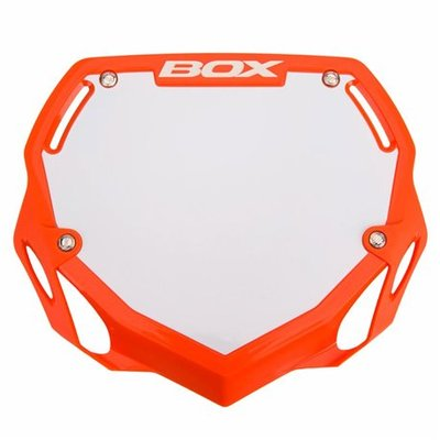 BOX Nummerbord Orange