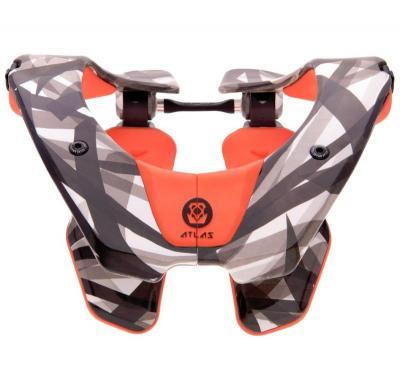 Atlas Prodigy Orange Nekbescherming BMX