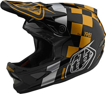 TLD D3 raceshop black gold