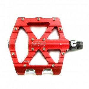BMX pedaal rood