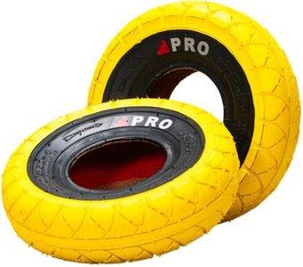 Rocker Street Pro Mini BMX Tyres  Yellow /blackwall