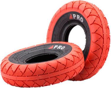 Rocker Street Pro Mini BMX Tyres red black