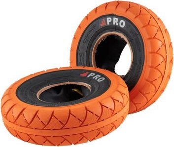 Rocker Street Pro Mini BMX Tyres orange blackwall