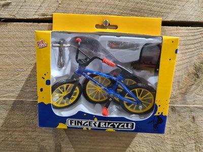 Finger BMX bike blue