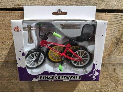 Finger bmx bike red