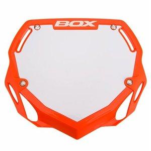 BMX Nummerbord BOX Orange